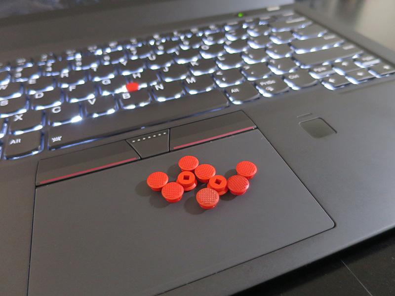ThinkPad スーパーロープロファイル トラックポイントキャップ セット