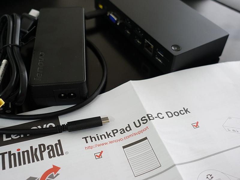 正式名称は ThinkPad USB-C ドックだった USB Type-Cドックではない