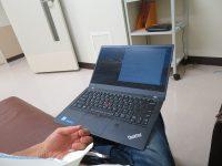 キーボードが静かなノートパソコン ThinkPad X1 Carbonでひたすらタイピング
