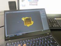 ThinkPad X1 Carbon 2017 フォトショとイラレを使ってチラシ作成