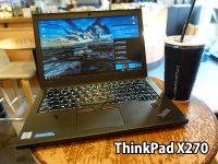 ThinkPad X270 格安SIM LTE通信 蔵前のカフェにて