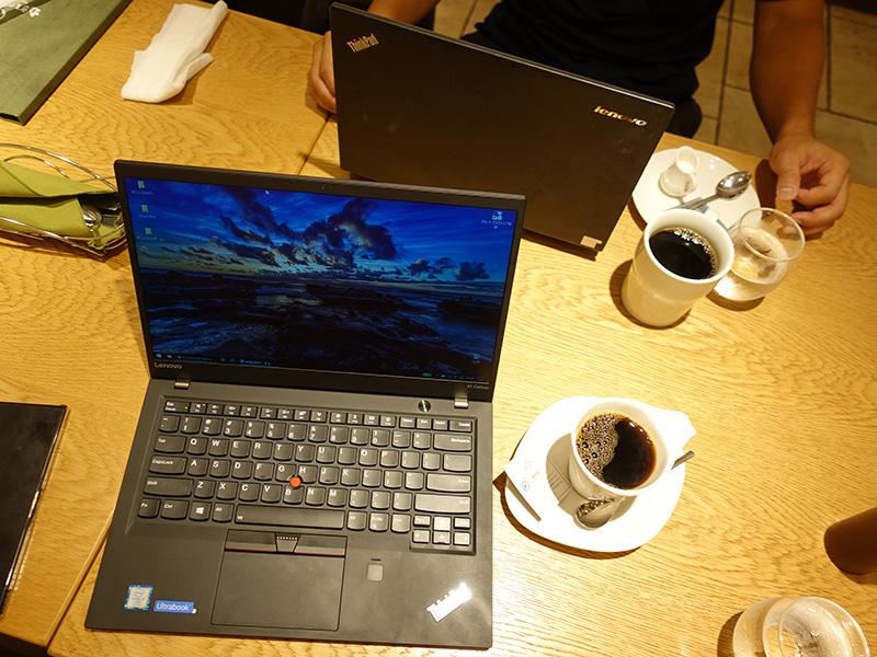 ThinkPad X1 Carbon と X240