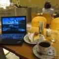 東銀座のカフェでThinkPad X270