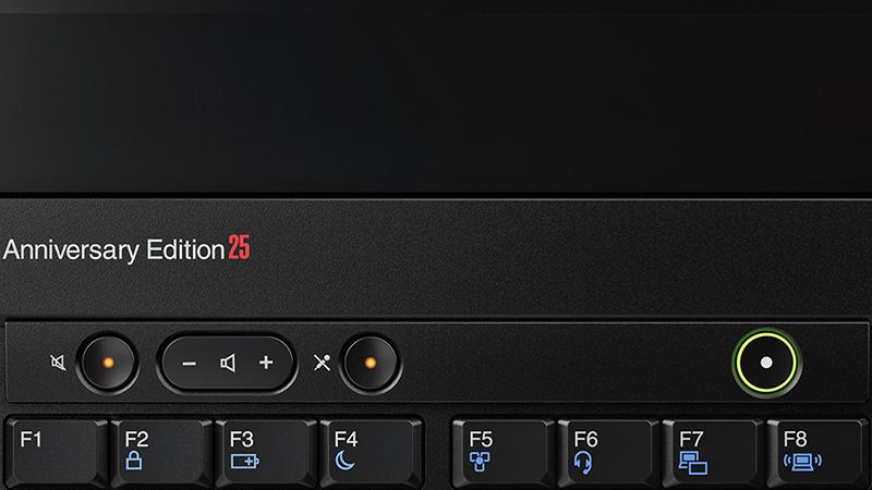 ThinkPad 25 音量 マイクミュート スピーカーミュートボタンが独立