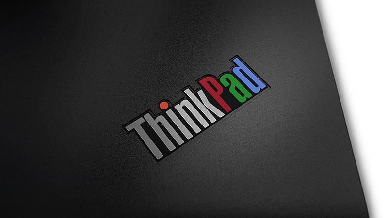 ThinkPad 25 ロゴ はなつかしのRGBカラー