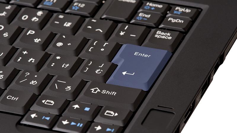 日本販売のThinkPad 25 は英語キーボードは選べない
