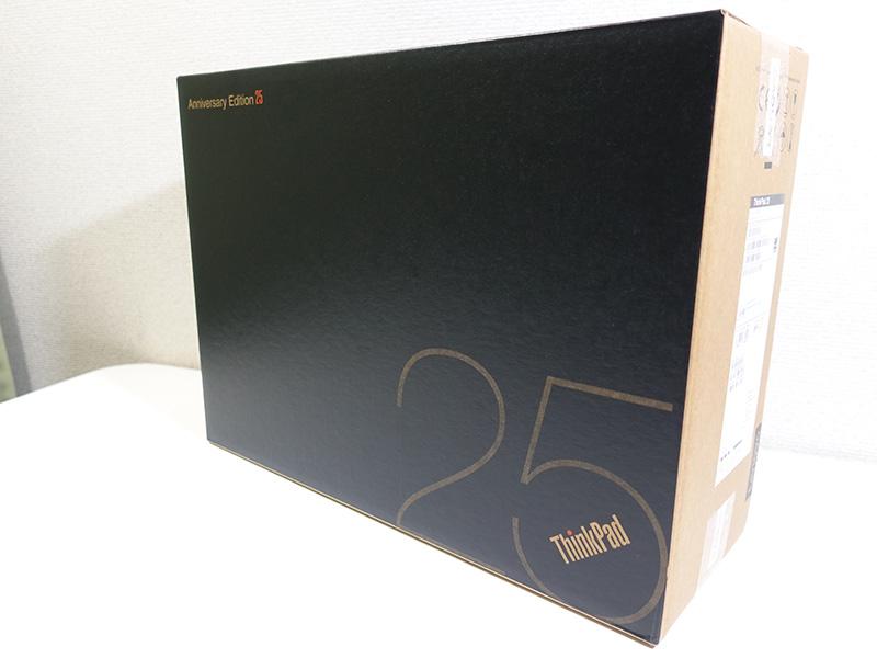ThinkPad 25 オリジナルダンボール箱