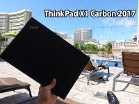 プールサイドでX1 Carbon 2017