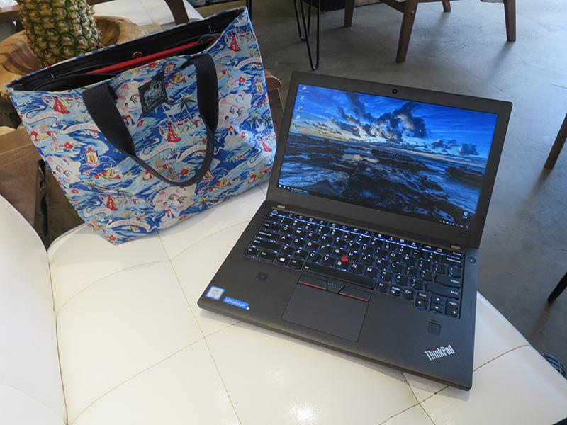 海外にThinkPad X270を持っていくときは常にバックアップ