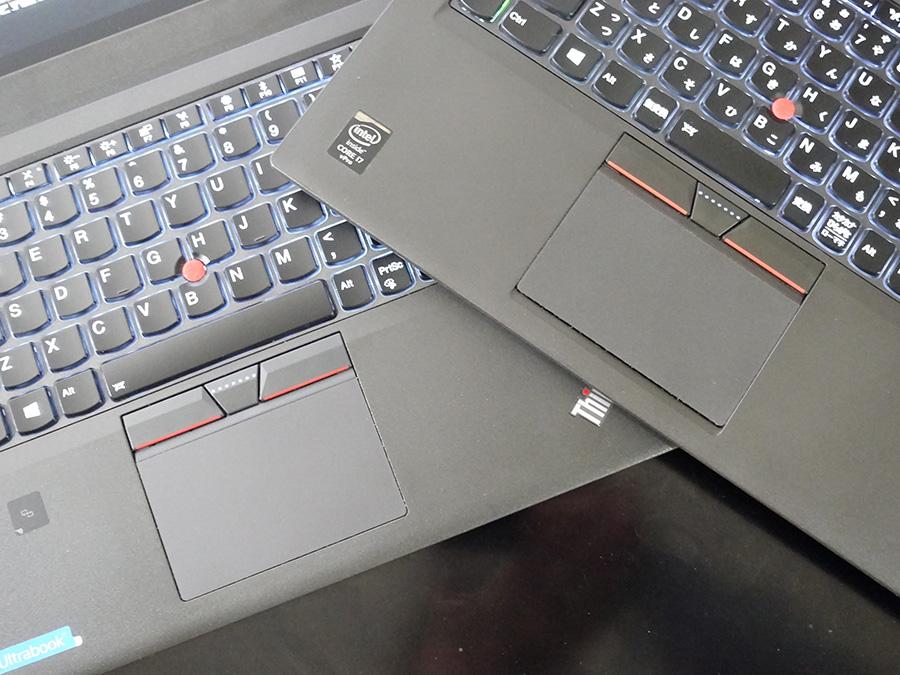 X270 X250 クリックボタンも同じ