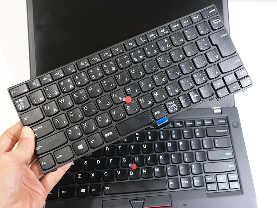 ThinkPad T440p 日本語キーボード バックライトなしが届いた