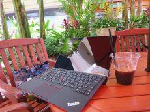 Thinkpad X1 Tablet 液晶面 ゴリラガラスが光沢液晶の概念を変えた