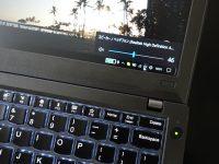 ThinkPad X270 音が出ない やたら小さい 原因と対処法