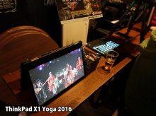 省スペースでデジタルサイネージ X1 Yogaのテントモードを活用