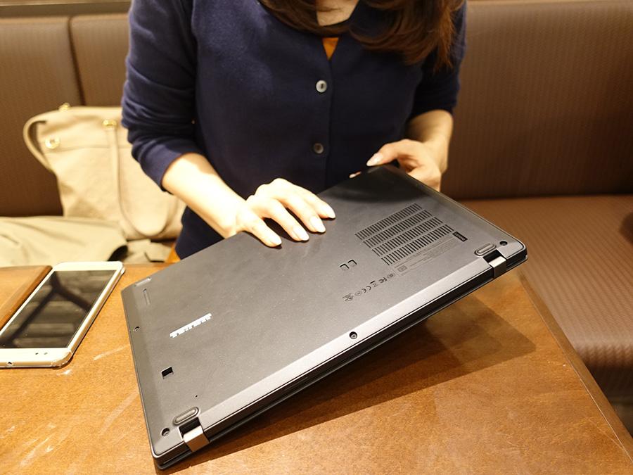 女子にThinkPad X280 はどう 実機を触った感想