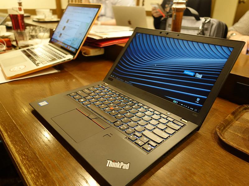Macbookを触ってみてX280の完成度の高さを感じる