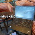 ThinkPad X280 を開いて朝活中