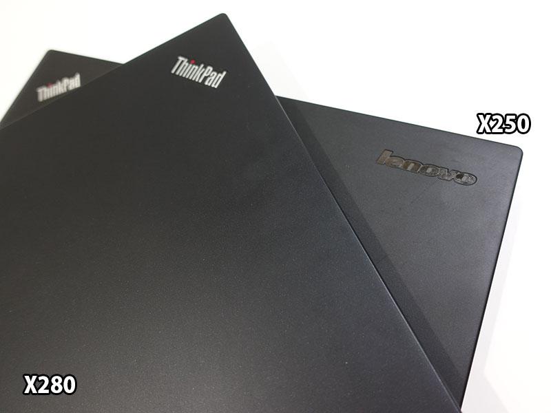X280 X250 天板材質の違い