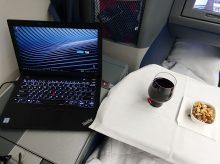 デルタ飛行機内で有料Wifiに接続 速度は? 2018年6月