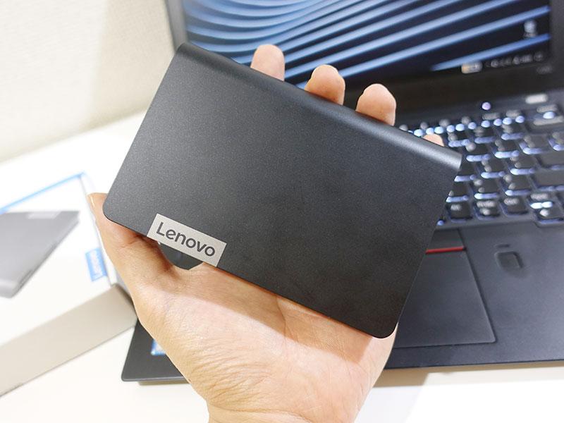 Lenovo USB Type-C ノートブックパワーバンク 手のひらサイズ