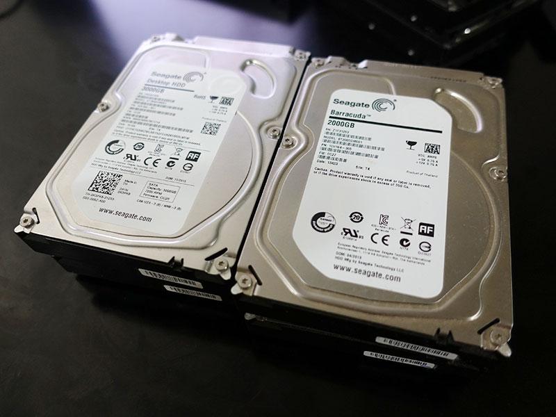 シーゲイト HDD 驚くほど安くなっている