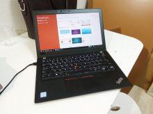 ThinkPad X280にマイクロソフトオフィスを後からインストール
