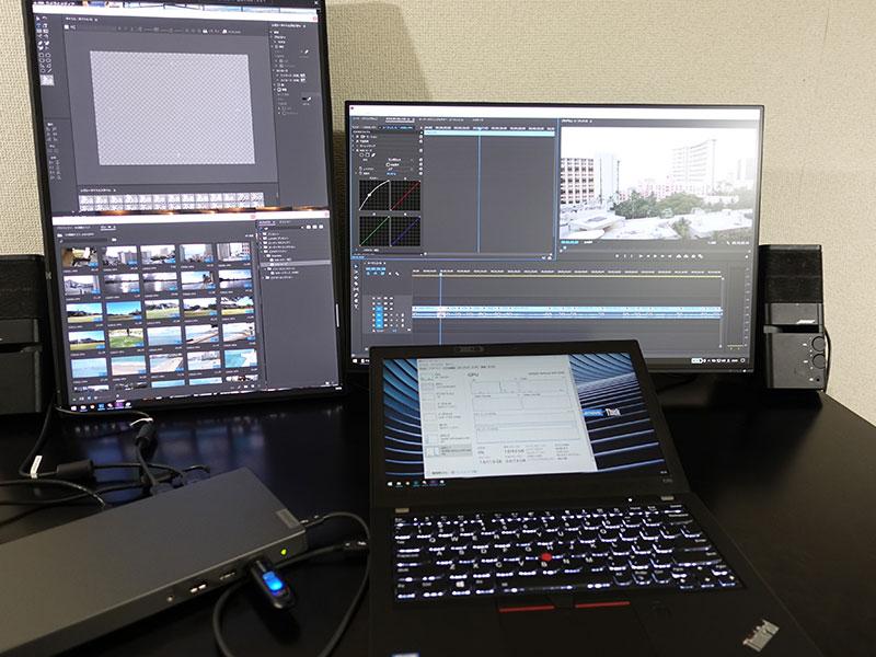 Thunderbolt 3 Graphics Dock X280で4K動画編集