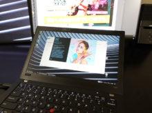 THinkPad X280 でフォトショを起動