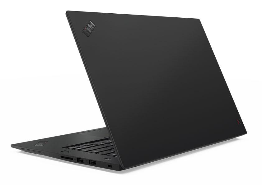 ThinkPad X1 Extreme 天板側からの外観
