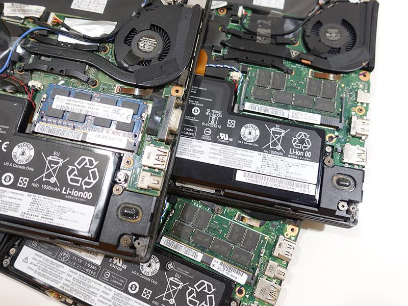ThinkPad X270 X260 X250 X240 メモリ交換と互換性