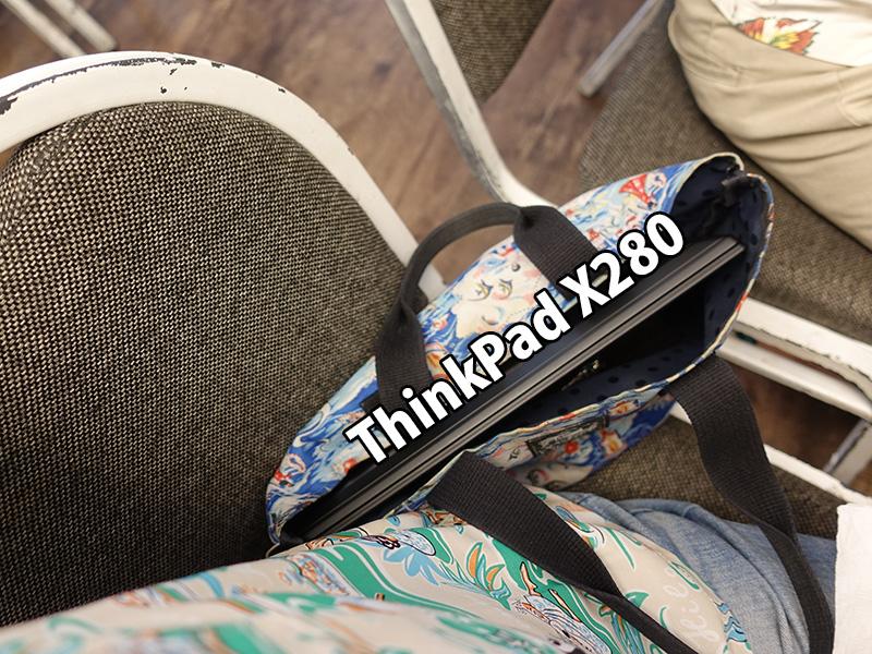 ThinkPad X280を落とした リアル堅牢性テスト!? 材質の塗装ハゲについて