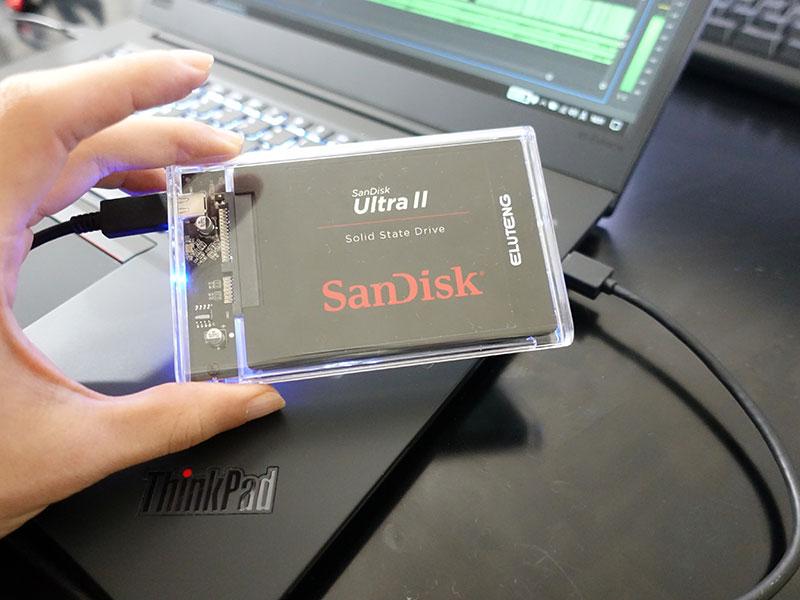 2.5インチSSDをThinkPadやデスクトップPCで再活用