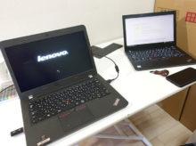 ThinkPad E450 Windows10をインストール プロダクトキーがいらない!? でもPROにアップグレードした