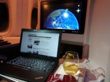 JAL 国際線 羽田~シンガポールで初めてWiFi(T-mobile)につなげた感想