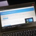 Win10 1809 手動で更新 ThinkPad X260