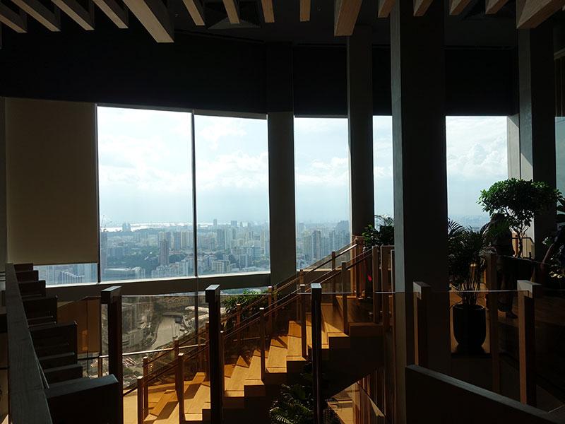 スイソテル ザ スタンフォード スカイバー あたりからの眺望