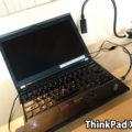 シンガポールで見かけたThinkPad X230とX270