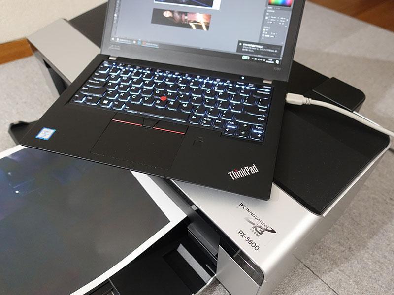 エプソン PX5600とThinkPadX280