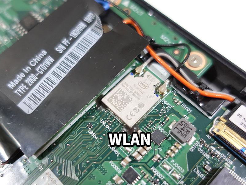 X390 WLANもオンボードになった