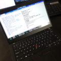 ThinkPad X390 BIOS表示 内部バッテリー無効化の方法