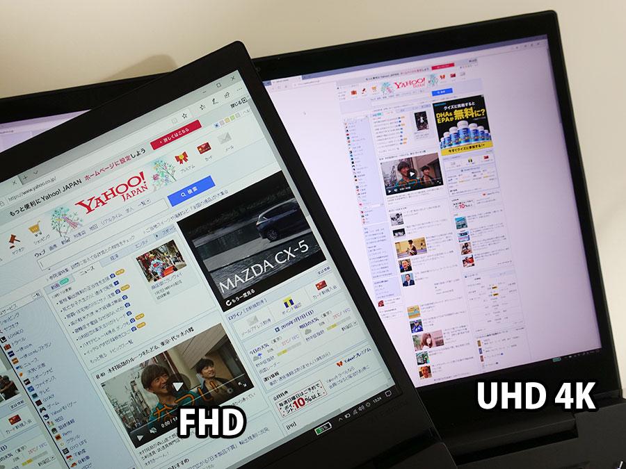4K UHD vs FHD 白が白じゃなかった・・・
