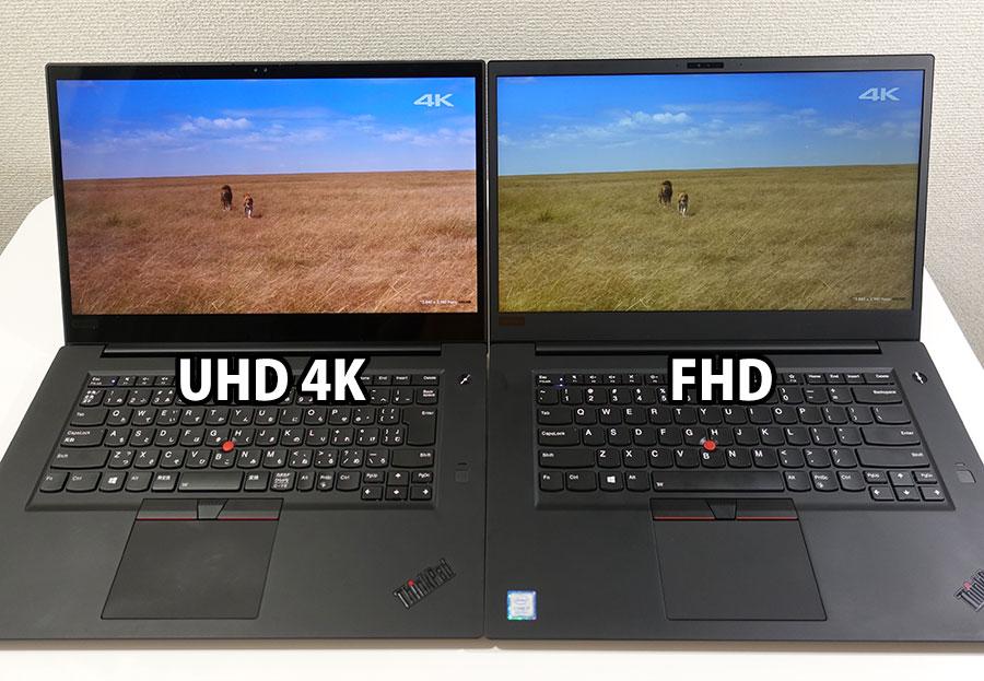 4K UHD vs FHD サバンナの色合い