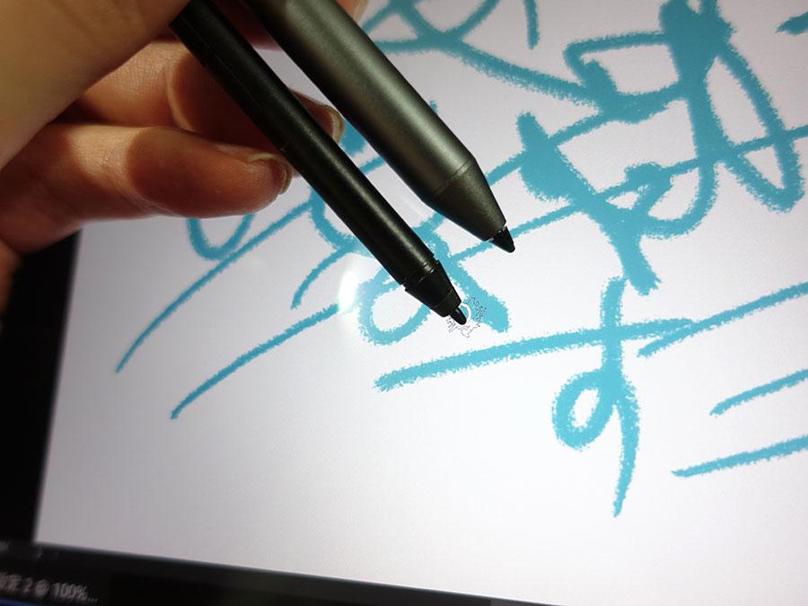 X1 Yoga付属のペンでもX1 Extremeに使えた
