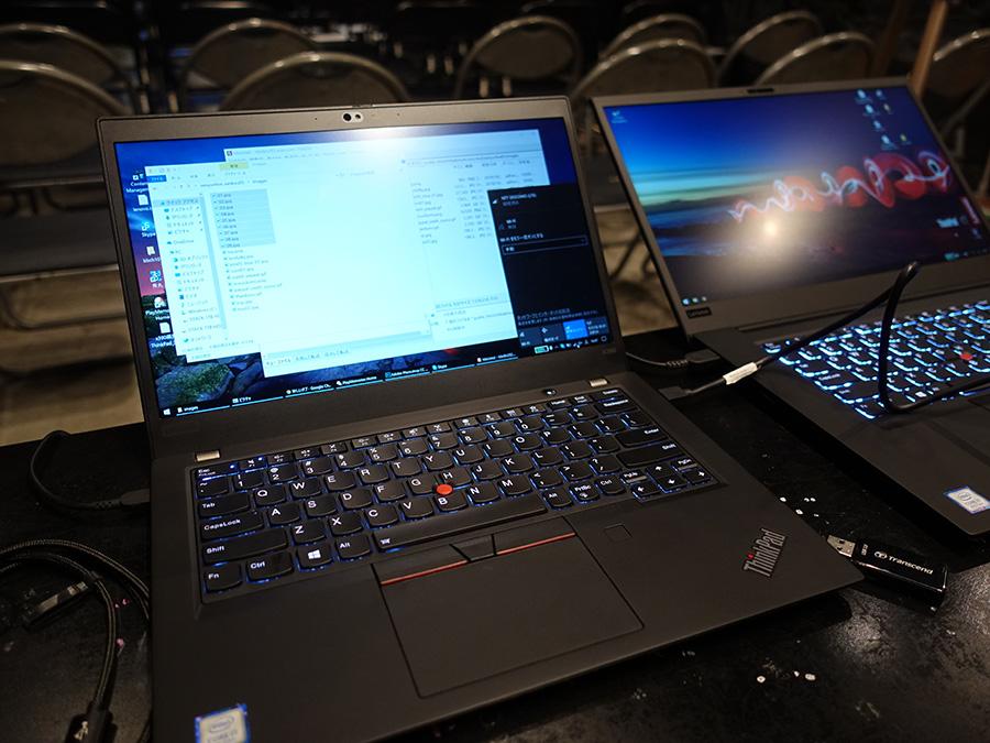 ThinkPadのおかげで滞りなく仕事完了