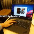 ThinkPad X1 Carbon UHD 4K HDR Illsutratorで印刷データを入稿