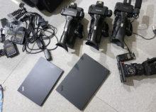ライブ撮影でThinkPad X390とX1 Extremeを仕事現場で使用