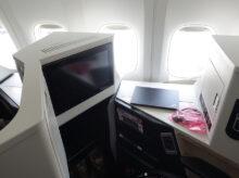 羽田から那覇 JAL国際線機材のクラスJはビジネスクラス仕様